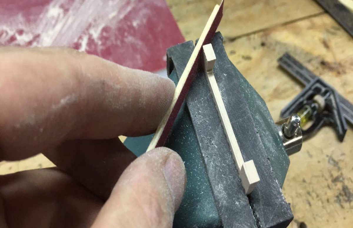 Hand_Finishing_Banjo_Bridge